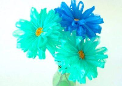 Reciclagem em flores