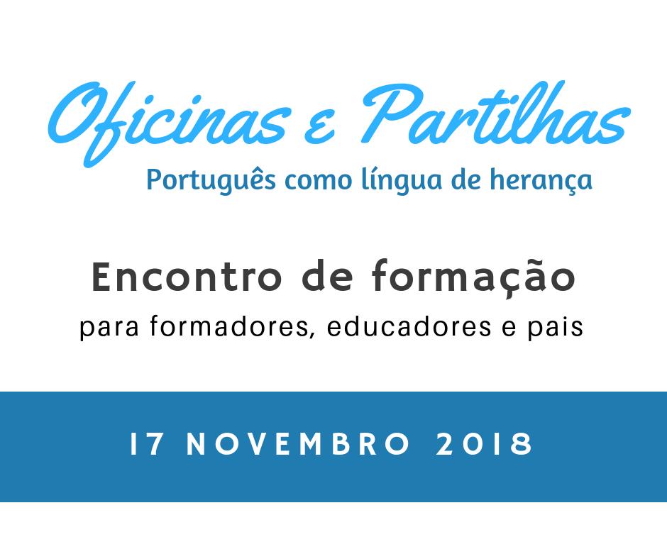 Officinas e Partilhas 17 nov 2018