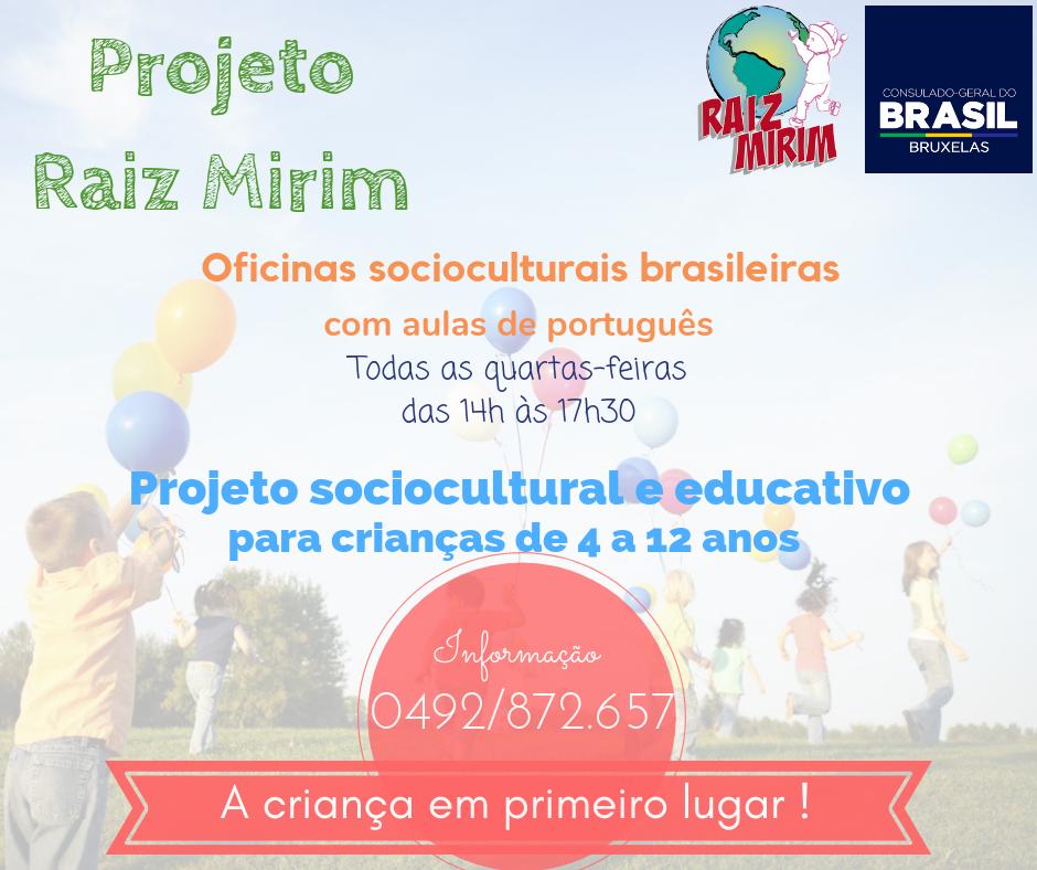 flyer Projeto Raiz